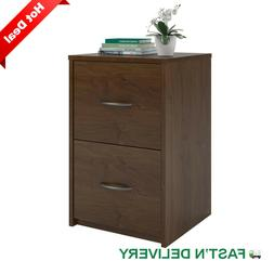 Ameriwood 2 Drawer File Cabinet Document Office Wood Storage
