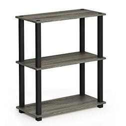 3-Tier Compact Multipurpose Shelf with Square Tubes French O