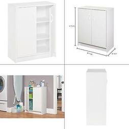 ClosetMaid 8982 Stackable 2-Door Organizer, White...New, Fre
