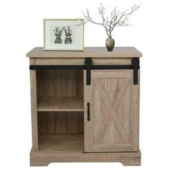 Accent Chest Storage Cabinet Rustic Farmhouse Bedroom Living