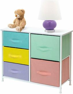 Sorbus Dresser with 5 Drawers Furniture Storage Tower Chest