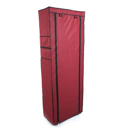 10-Tier 9 Rack Cabinet with Fabric Cover