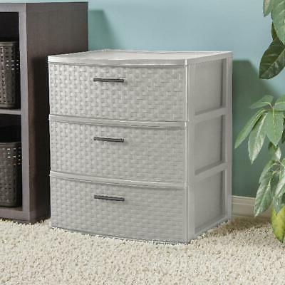 3 Weave Tower Cabinet Box Organizer Color