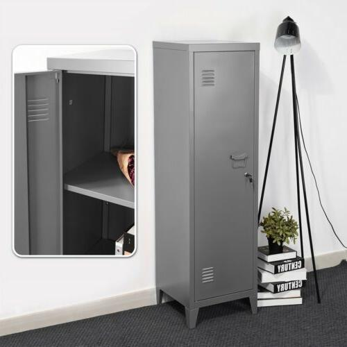 3 Tier Metal Office Products Storage Cupboard