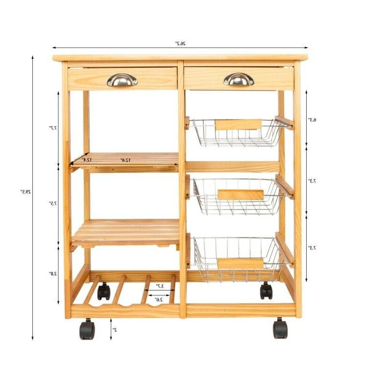 Double-row Dining Room Storage Cabinet