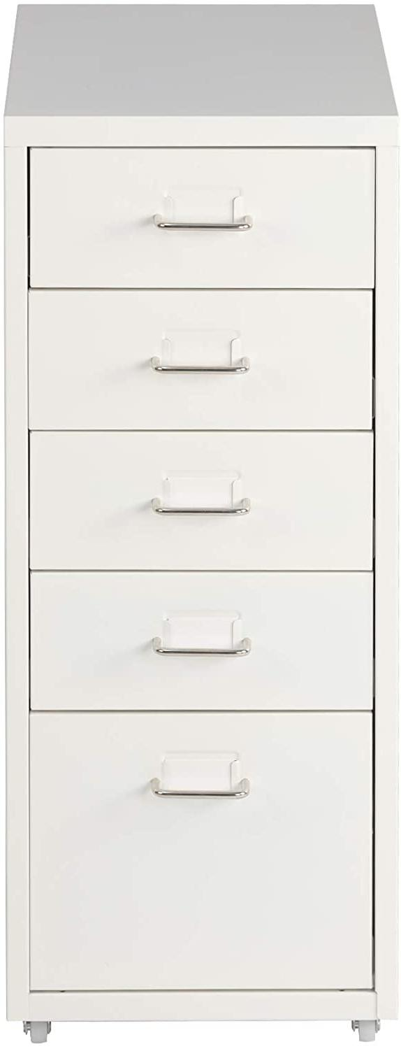 Livebest Chest Storage File Home Metal