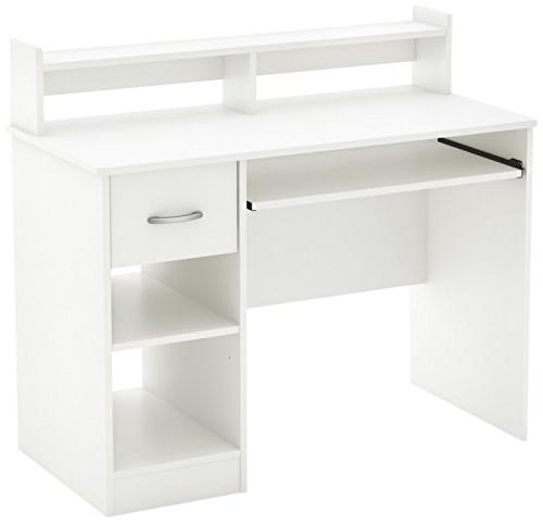South Shore Desk with Keyboard Tray,