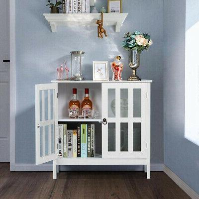 Wooden Cabinet Console Server Home