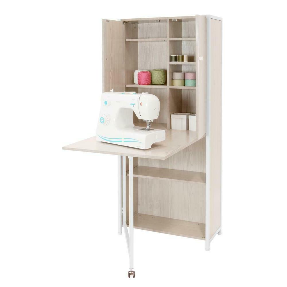 Sew Craft or Home Office Storage with Table