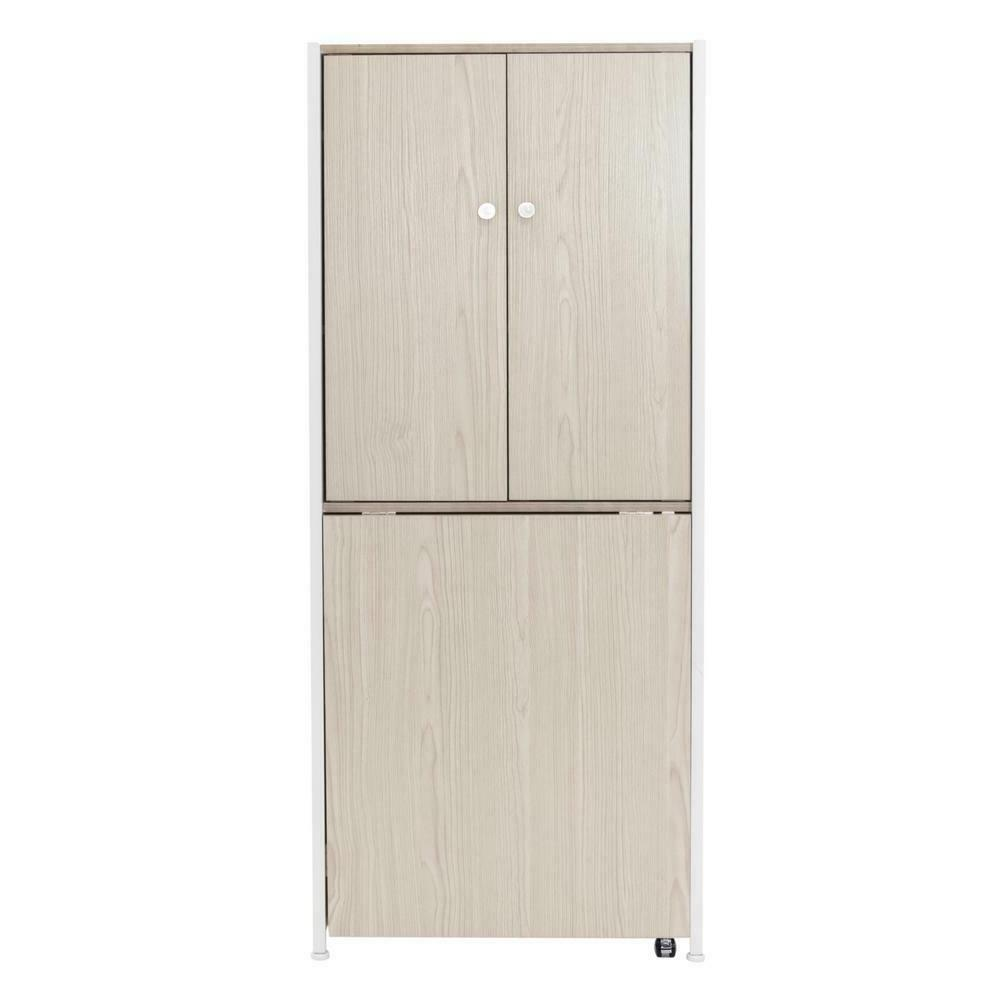 armoire mdf craft or home office storage
