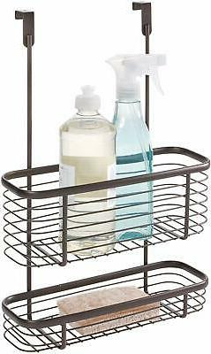 iDesign Axis Over the Cabinet 2-Tier Kitchen Storage Basket