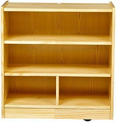 AmazonBasics with Casters 4-Cubby
