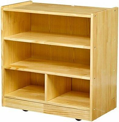 block storage cabinet with casters 4 cubby