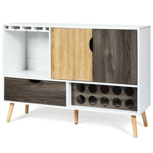 Buffet Sideboard Style Wooden Cabinet Dining