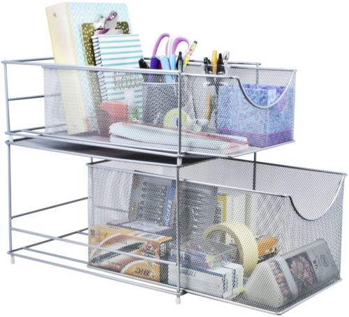 Cabinet Organizer Cover Storage Out
