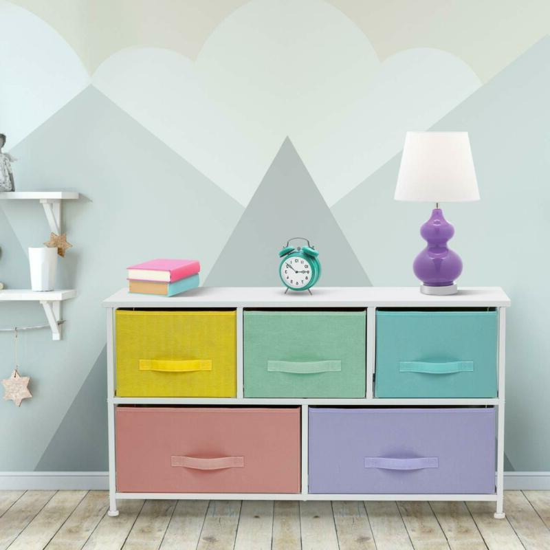 Sorbus Dresser with Drawers Furniture Storage Tower Chest