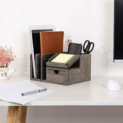 Liry Products Wood Storage Cabinet Mail File St