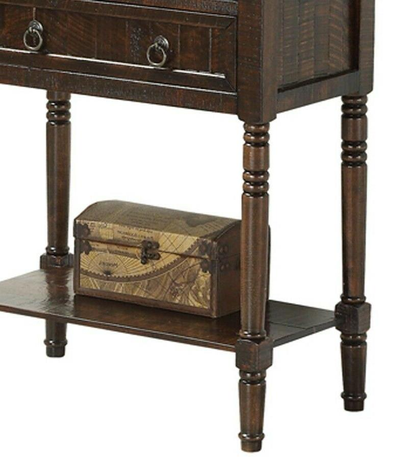 Hall Console End Storage