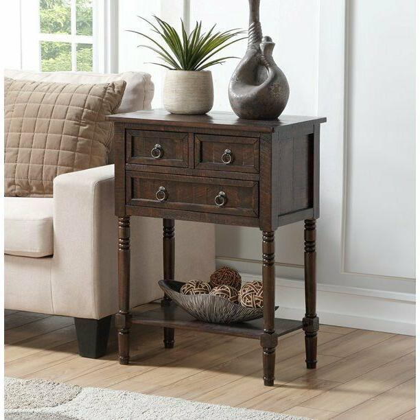 hall display table sofa console end side