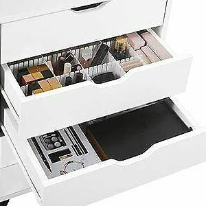 Home 7 Mobile Storage Cabinet with