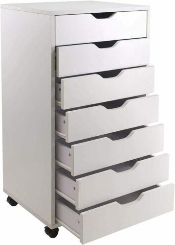 Home 7 Mobile Cabinet Cabinet Locking Casters