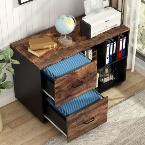 Home Office File Cabinet Drawers Shelves