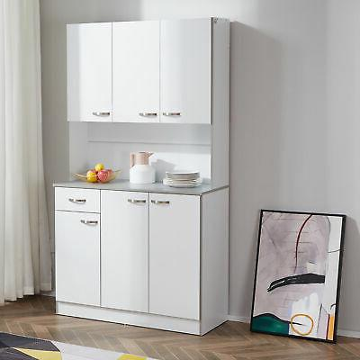 kitchen storage cabinet table shelf