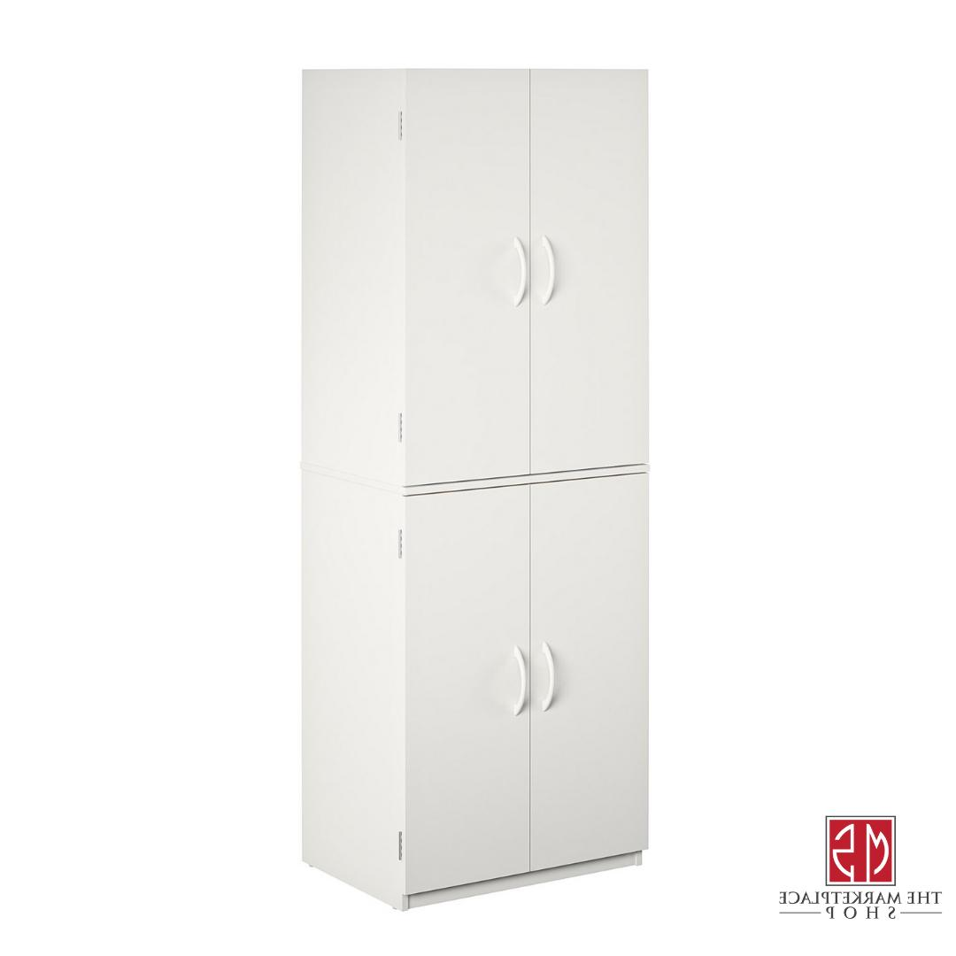 Kitchen Pantry Tall White Armoire Bedroom