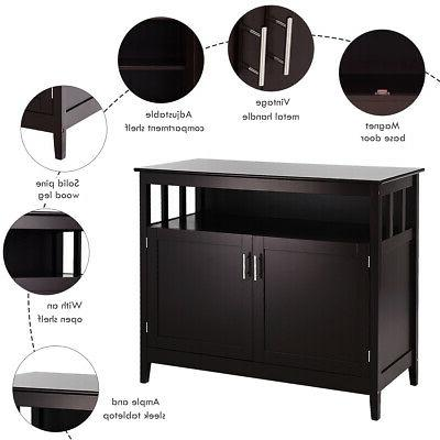 Modern Cabinet Buffet Table Sideboard Dining