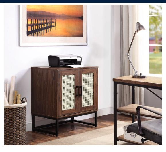 Modern Retro Media Stand Metal Home