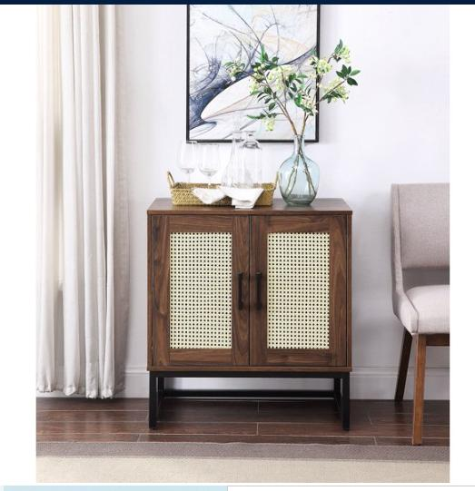 modern retro storage cabinet media stand accent