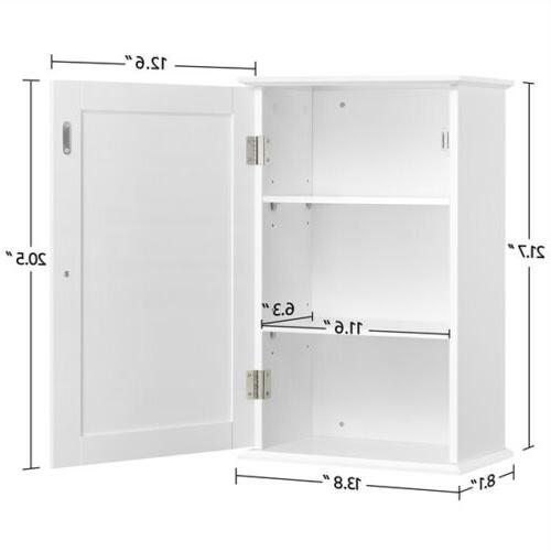 Single Bathroom Indoor Mounted Cupboard