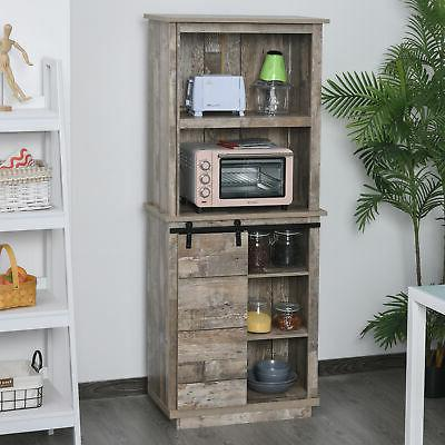storage cabinet home tall organizer with barn