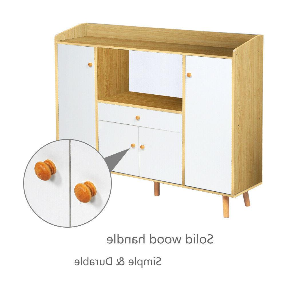 Wooden Cupboards Shelf Multi-Function Home New