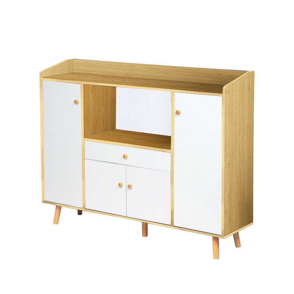 Wooden Sideboard Storage Cupboards Home New