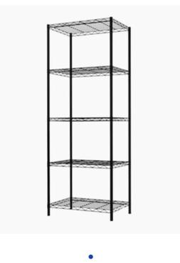 Home Basics LOW51683 13.8-in W Steel Freestanding Utility St