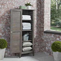 Home Styles Maho French Grey Outdoor Storage Cabinet