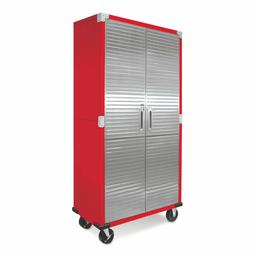 Metal Rolling Garage Tool File Storage Cabinet Stainless Ste