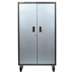 ready to assemble steel rolling garage cabinet