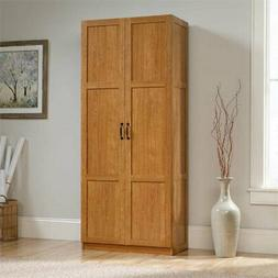 Sauder Select Storage Cabinet in Highland Oak