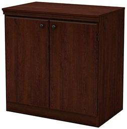 South Shore Small 2-Door Storage Cabinet with Adjustable She