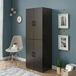 Mainstays Storage Cabinet, Multiple Finishes 4 doors home or