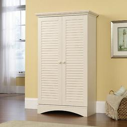 Tall Wooden Pantry Storage Cabinet Kitchen Dining Room Furni